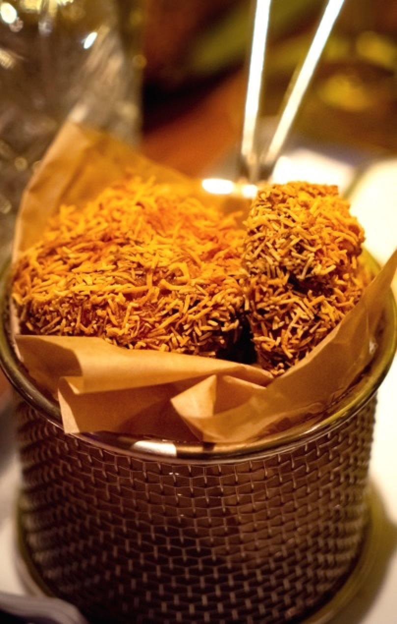 Kataifi Zucchini Fritters